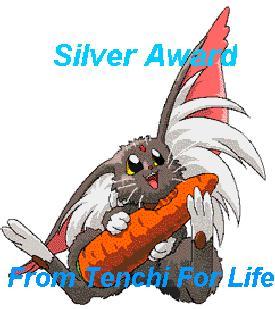 Lookie, lookie! I got my first award! I'm so happy! =^-^=